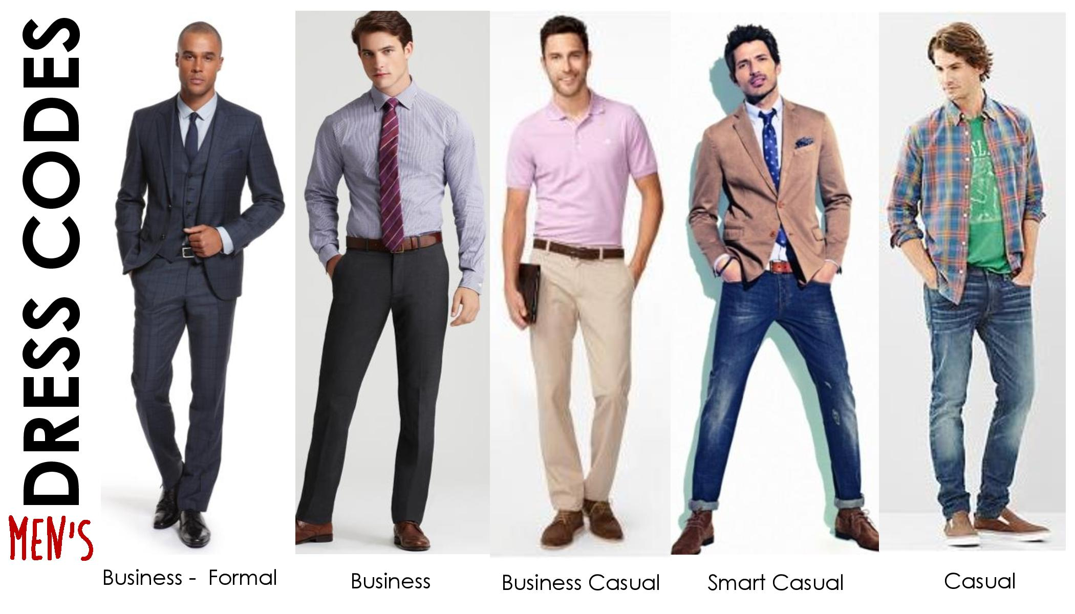 Model Business Casual VS Business Professional