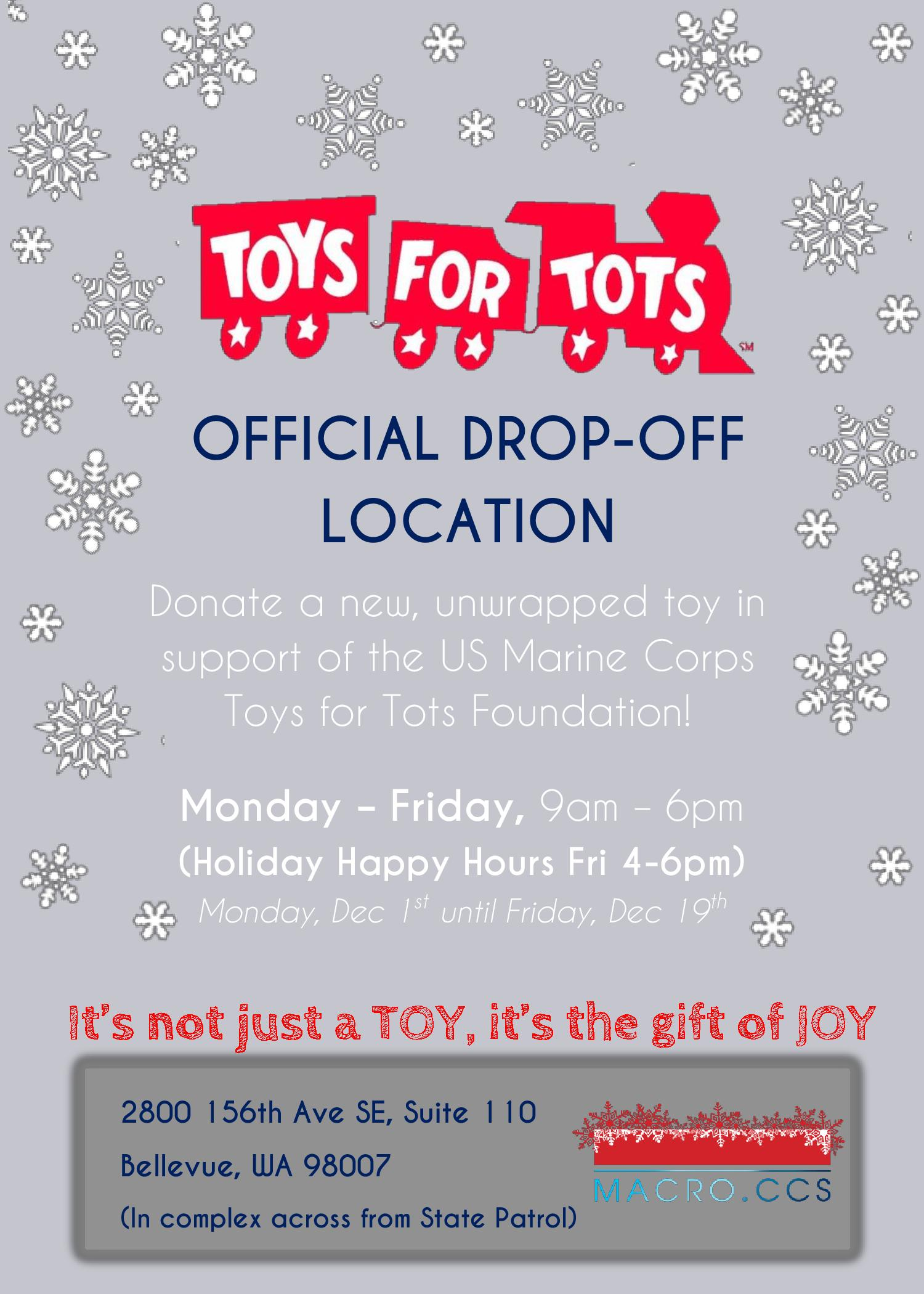 Marine Toys For Tots Foundation Logo : Events news archives macroccs